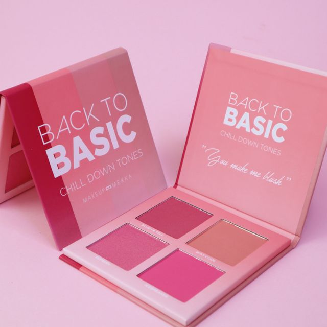 Back To Basic Blush palette - Chill Down Tones